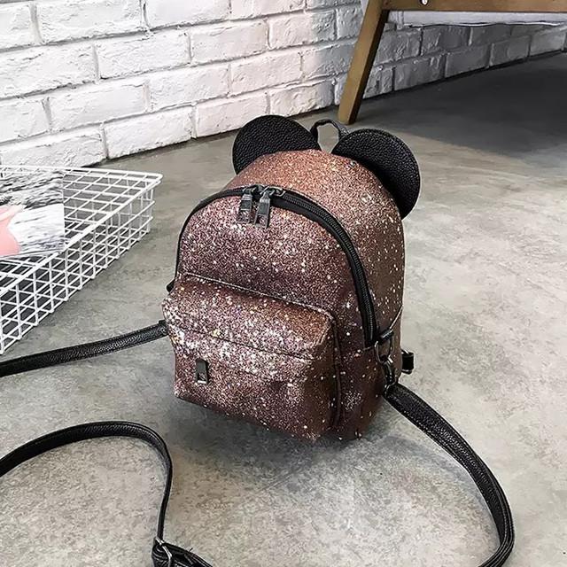 Рюкзак мини с ушками фото 8