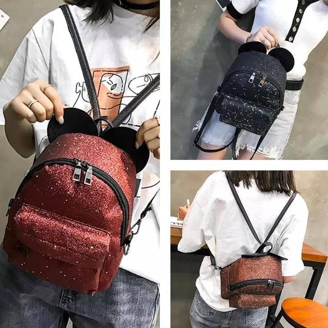 Рюкзак мини с ушками фото 9