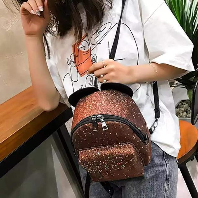 Рюкзак мини с ушками фото 28