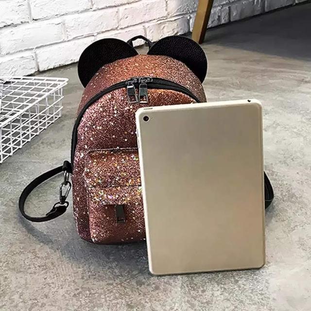 Рюкзак мини с ушками фото 30