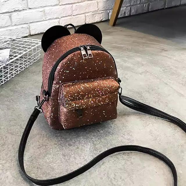 Рюкзак мини с ушками фото 31