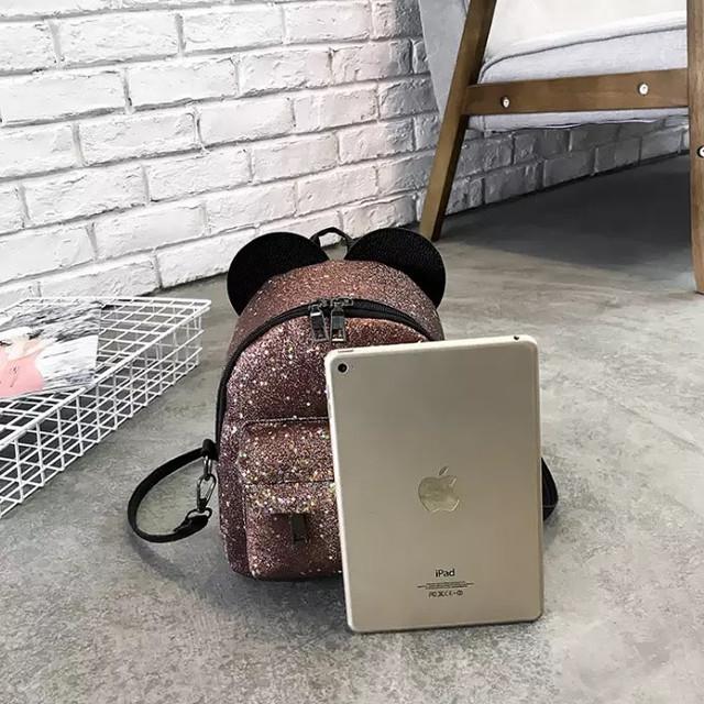 Рюкзак мини с ушками фото 42
