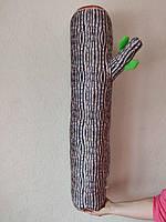 Декоративная подушка Бревнышко 45 см и 90 см 3Д 3D LSM