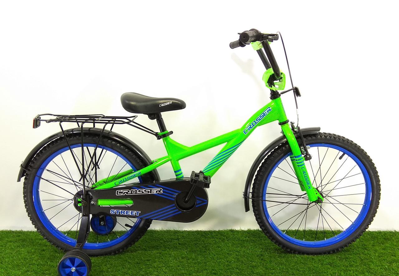 """Детский велосипед Crosser Street 20"""""""