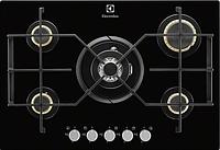 Варочная поверхность Electrolux EGT 7353 YOK (газ на стекле, 68 см, 5 конфорки)