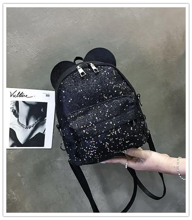 Рюкзак мини с ушками фото 10