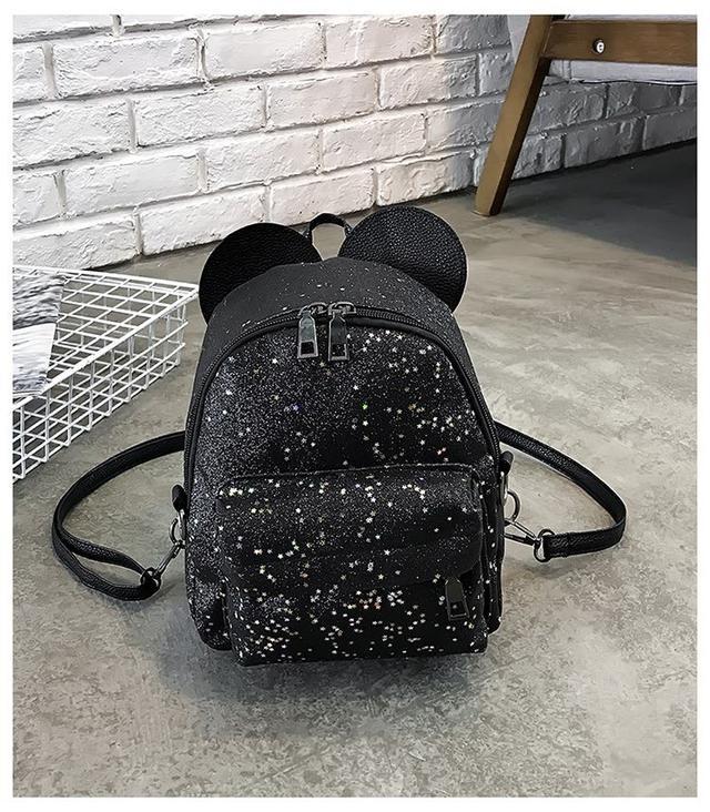 Рюкзак мини с ушками фото 11