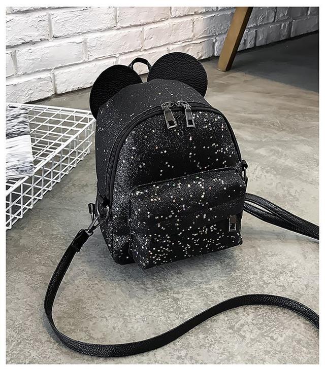 Рюкзак мини с ушками фото 12