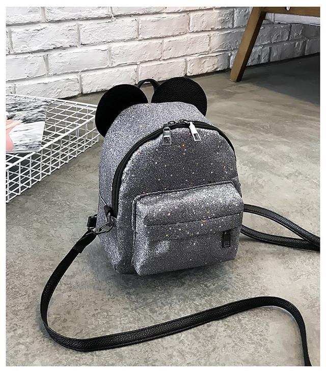 Рюкзак мини с ушками фото 14