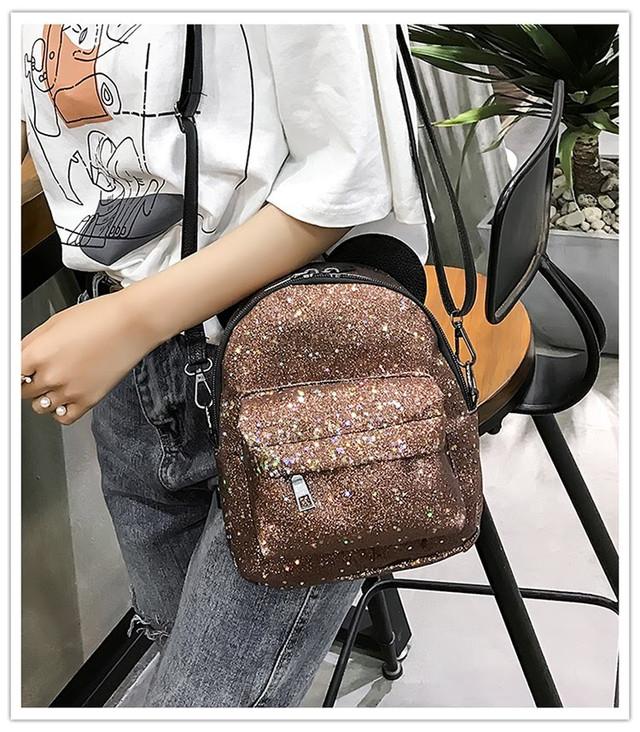 Рюкзак мини с ушками фото 16