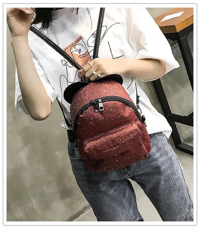 Рюкзак мини с ушками фото 18