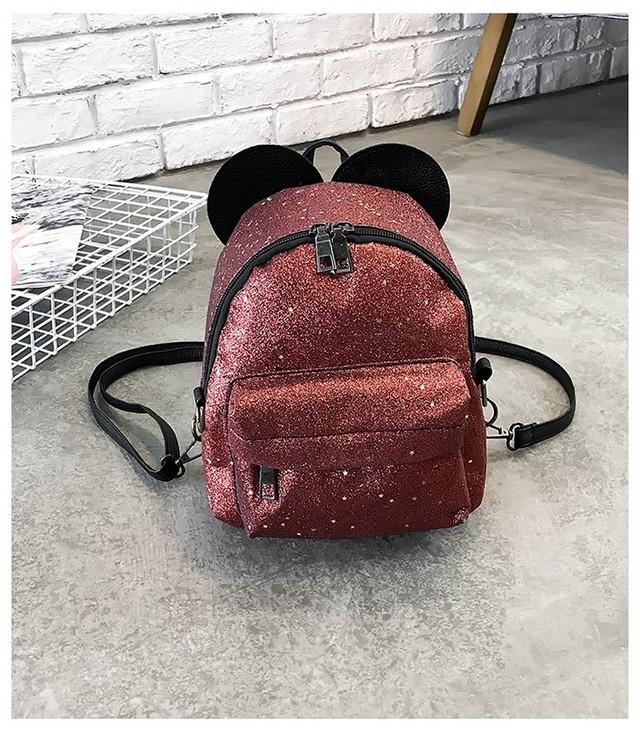 Рюкзак мини с ушками фото 19
