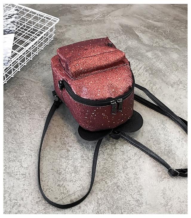 Рюкзак мини с ушками фото 20