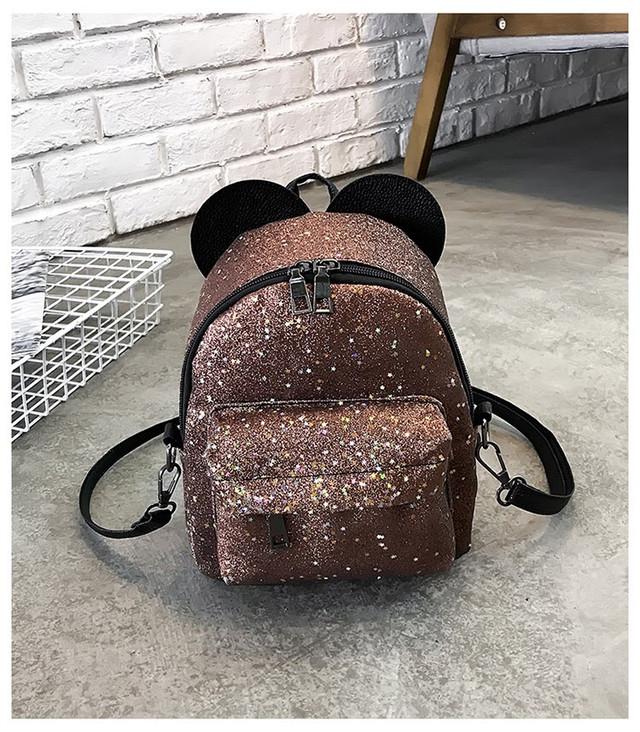 Рюкзак мини с ушками фото 22