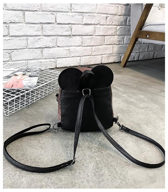 Рюкзак мини с ушками фото 24