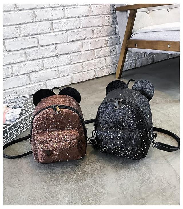 Рюкзак мини с ушками фото 26