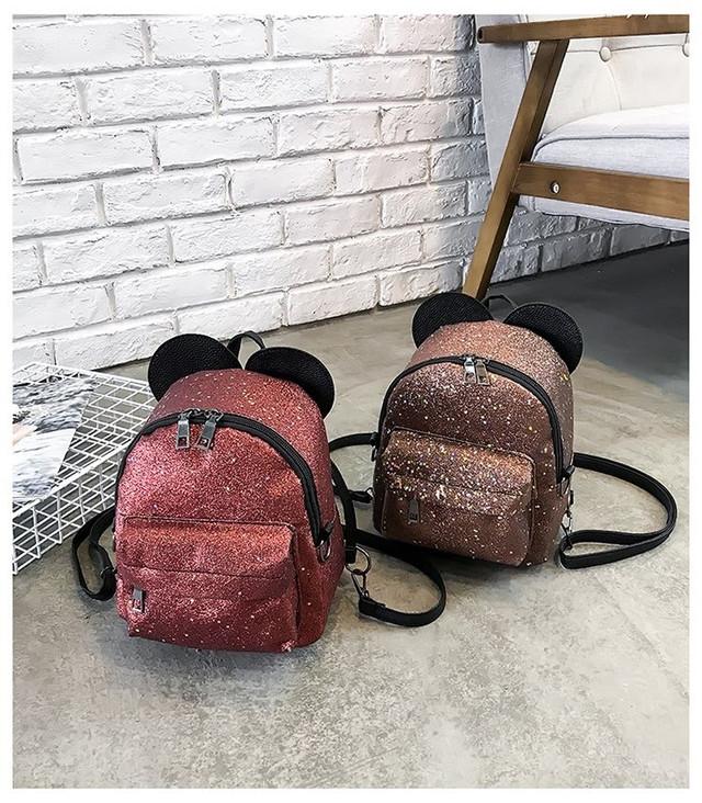Рюкзак мини с ушками фото 27