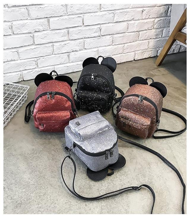 Рюкзак мини с ушками фото 43