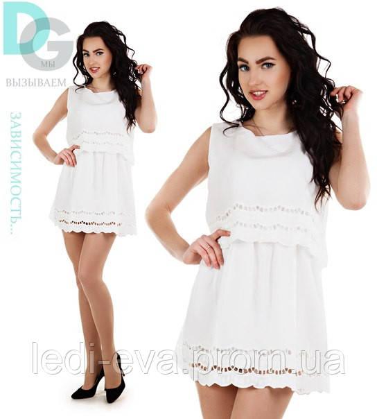 8234549c880a Платье костюм белое, цена 319 грн., купить в Одессе — Prom.ua (ID ...