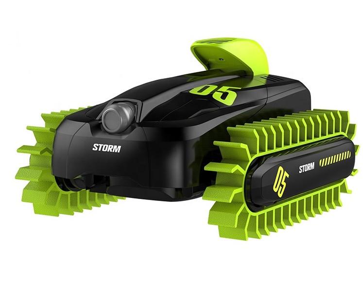 Радіокерована іграшка CRAZON Storm Amphibious іграшковий автомобіль-всюдихід на р/к Чорно-Зелений (SUN3667)