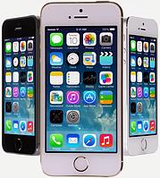 Айфон(Iphone) 5S,1сим,тепловой дисплей,4GB памяти,чувствительный сенсор.