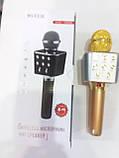 Колонка портативная с функцией микрофона и караоке Wster WS-1688, фото 3