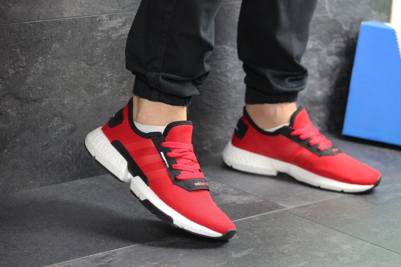Мужские кроссовки Adidas POD-S3.1 (красные)