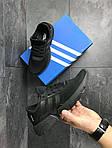 Мужские кроссовки Adidas POD-S3.1 (черные), фото 4