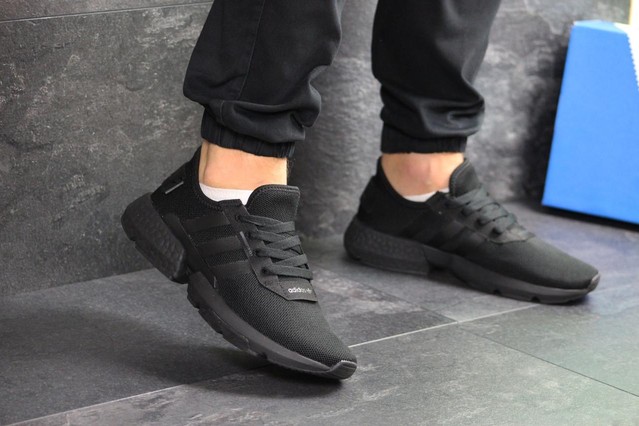 Мужские кроссовки Adidas POD-S3.1 (черные)