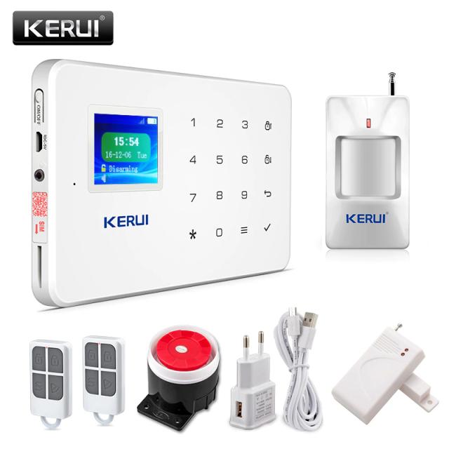 Комплект GSM-сигнализации KERUI G18 (iOS/Android)