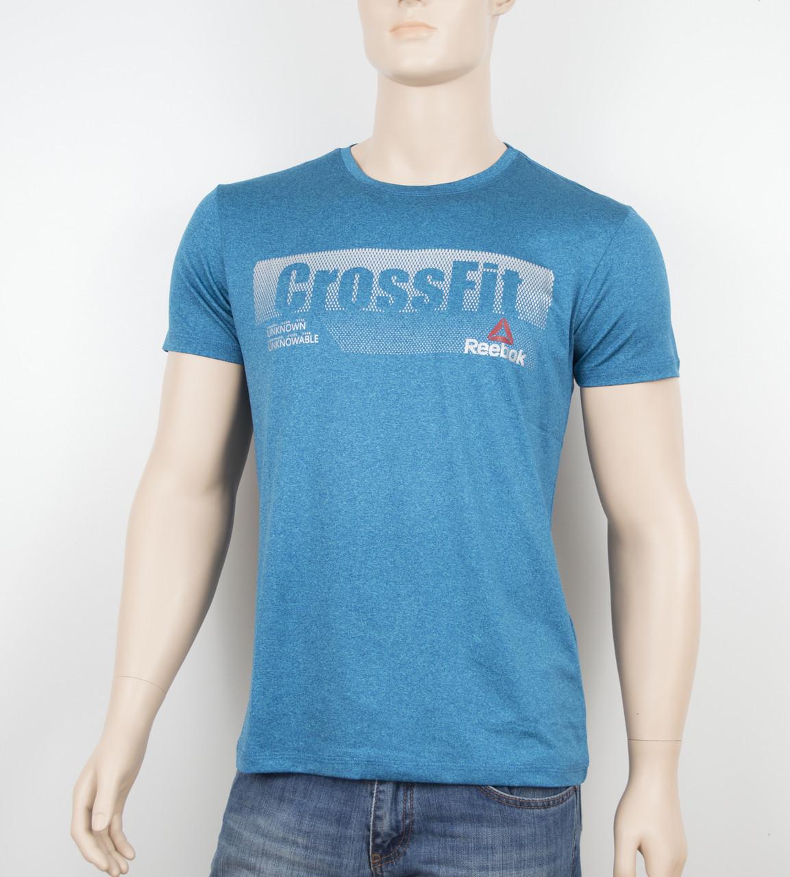 "Мужская футболка ""Вискоза"" Reebok 1902 изумруд"