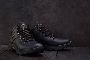 Ботинки Anser 130 (Ecco) (зима, мужские, натуральная кожа, черный)