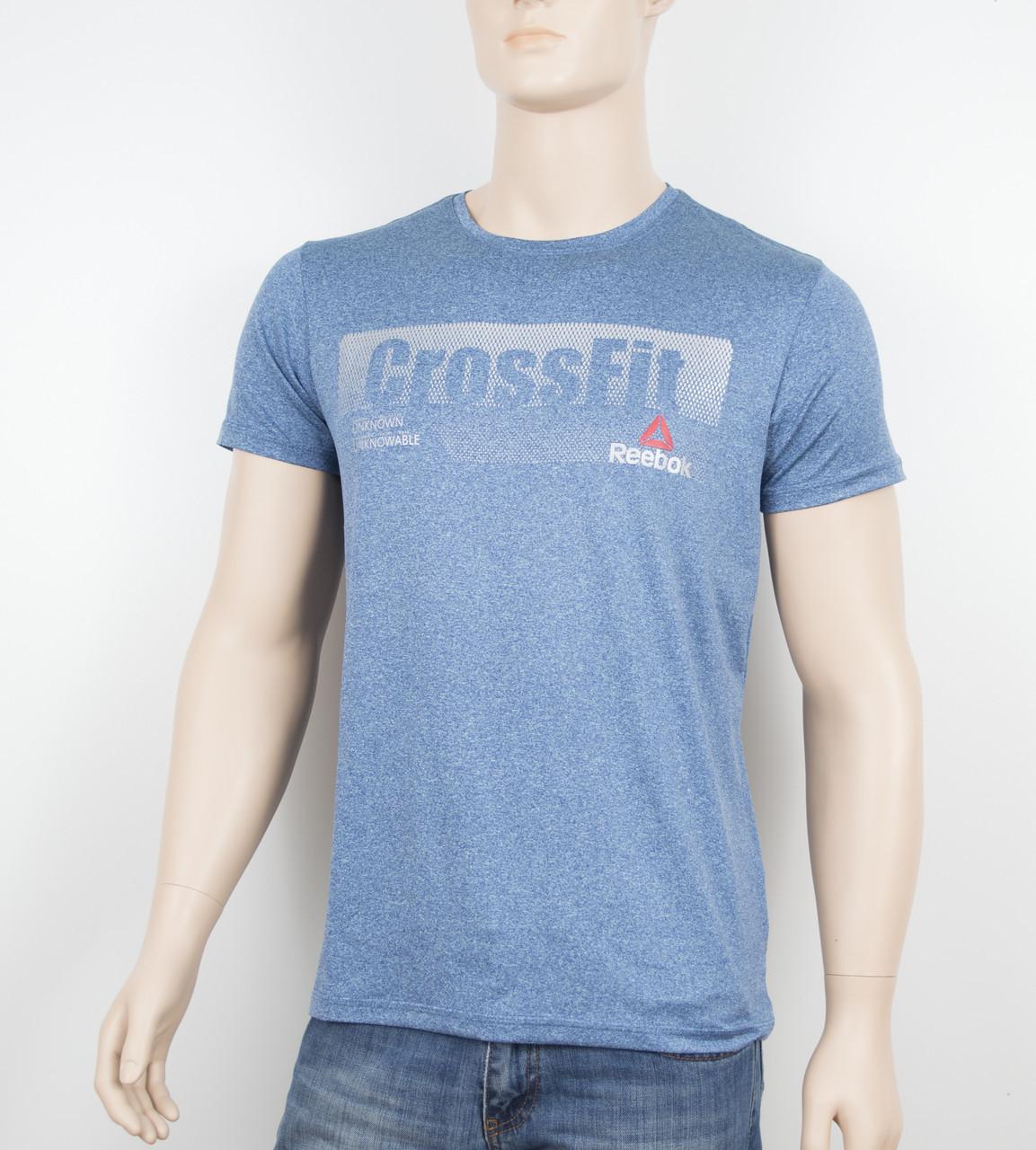 """Мужская футболка """"Вискоза"""" Reebok 1902 джинс"""