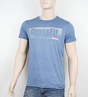 """Мужская футболка """"Вискоза"""" Reebok 1902 джинс, фото 1"""