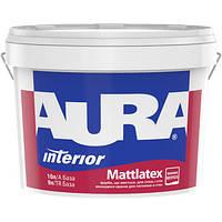 Краска интерьерная матовая латексная AURA Mattlatex 10л