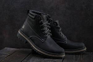 Ботинки мужские Accord БОТ черные (натуральная кожа, зима)