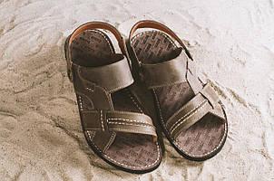 Босоножки Bonis Original 25 (лето, мужские, натуральная кожа, коричневый)