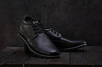 Ботинки мужские Vankristi 927 черные (натуральная кожа, зима), фото 1