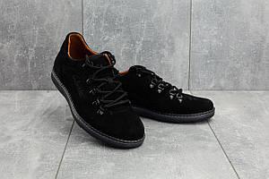 Повседневная обувь Yuves 650 (Clarks) (весна/осень, мужские, замша, черный)