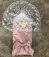 Конверт-одеяло Ангел (розовый)