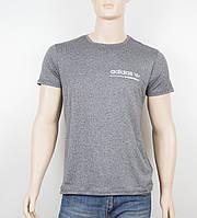 "Мужская футболка ""Вискоза"" Adidas 1902 серый, фото 1"