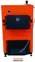 Стальной твердотопливный котел ДТМ Эко 10М мощностью 10 кВт