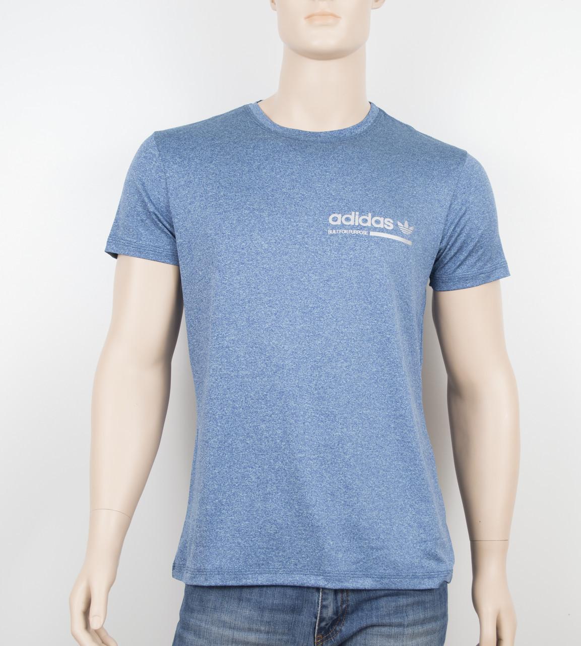 "Мужская футболка ""Вискоза"" Adidas 1902 джинс"