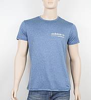 """Мужская футболка """"Вискоза"""" Adidas 1902 джинс, фото 1"""