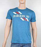 "Мужская футболка ""Вискоза"" Adidas 1901 бирюза, фото 1"