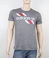 "Мужская футболка ""Вискоза"" Adidas 1901 серый, фото 1"