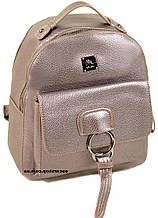Женский рюкзак серебро. Размер 25*22*14. Детский портфель. Женская сумка Alex Rai. СЛ7