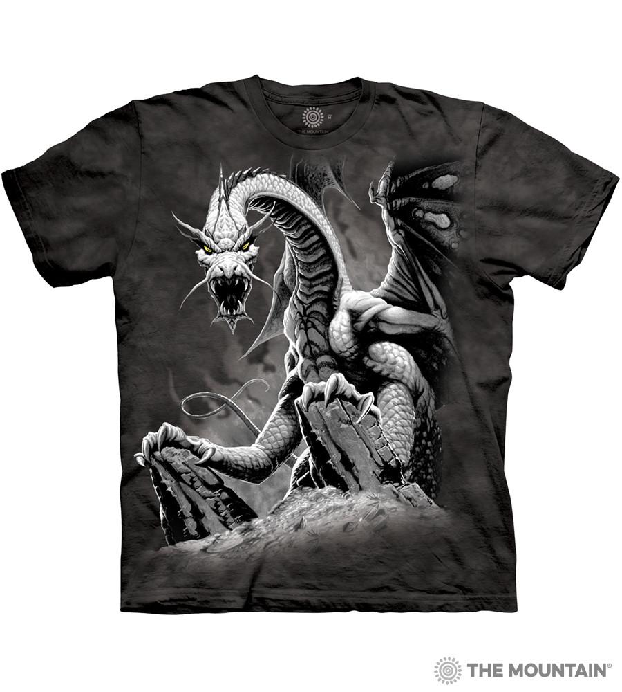 Детская футболка THE MOUNTAIN - Black Dragon