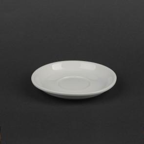 Блюдце фарфоровое белое HLS 150мм. HR1513