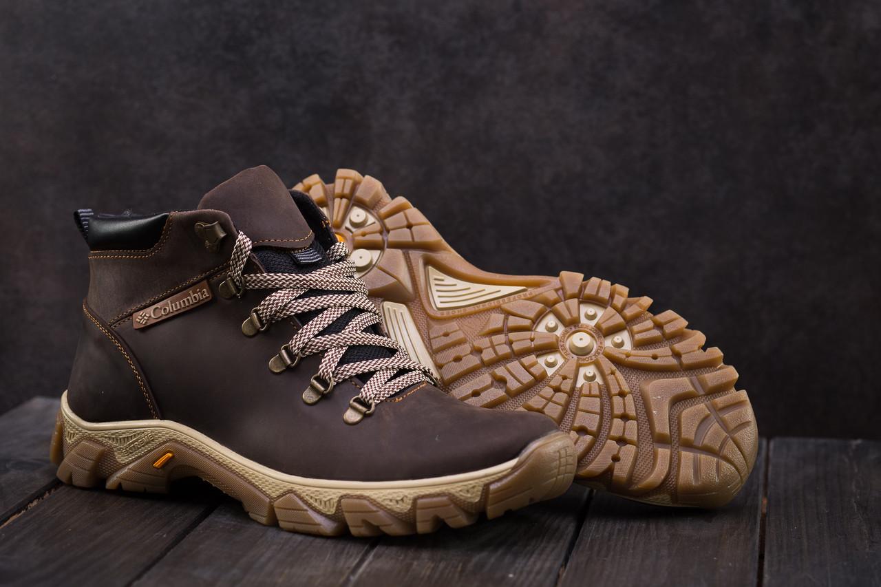 Ботинки мужские Twics К2 коричневые (натуральная кожа, зима)